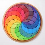 Grande spirale colorée