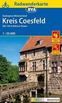 Radkarte Kreis Coesfeld 1:50.000