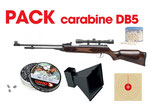 Pack FUSIL DB5 UNDERLEVER RIFLE SWISS ARMS AIR 4.5MM + LUNETTE 4X32