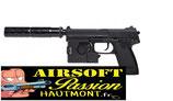 Pistolet HK SOCOM MK23 KIT COMPLET TOKYO MARUI GAZ