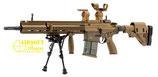 Fusil HK G28 FULL METAL SERIE SPECIALE BRONZE VFC UMAREX AEG + MOSFET