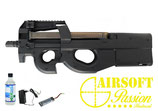 Pack airsoft FN HERSTAL P90 + batterie + chargeur + billes