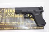 Pistolet WE G23 Gen 3 III GBB Noir Gaz