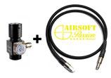 Régulateur BALYSTIK HPR800C + LIGNE HAUT DEBIT DELUXE NOIRE