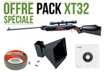 Pack CARABINE 4.5MM XT32 + LUNETTE 4X32 SWISS ARMS