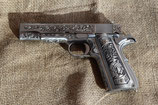Pistolet WE 1911 Silver Classic