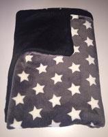 Kuscheldecke Sterne, 100 x 120cm