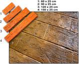 "Pavimento Stampato ""Antique Wood1"""