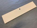 Klapptür 75 x 17,5 beige   für das USM Haller System inkl. Schlosskasten/Riegel und Anschlagschnäpper