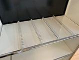 heso CD Einsatz für USM Haller  50 x 35 für 80 CD  ( 4 x 20 )
