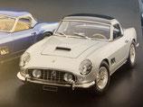 CMC 1:18 Limited Edition Ferrari 250 California SWB 1960 Silber inkl. Hardtop