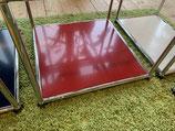 Original USM Haller Tablar rubinrot 50 x 50 ( Aussentablar) Neu