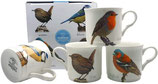 Heritage British Birds Set of 4 Mugs