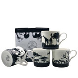 Heritage African Safari Set of 4 Mugs