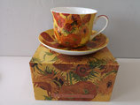 Heritage Sunflower Cup & Saucer
