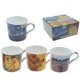 Heritage Artists Collection Set of 4 Mugs
