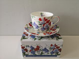 Heritage Pansy Cup & Saucer