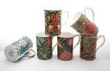 Heritage Morris Collection Set of 6 Mugs