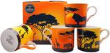 Heritage Safari Set of 4 Mugs