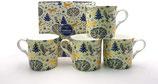 Heritage Enchantment Set of 4 Mugs