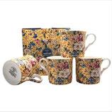 Heritage Summer Blossom Set of 4 Mugs