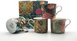 Heritage Morris Collection Set of 4 Mugs