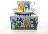 Heritage Iris Cup & Saucer