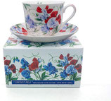 Heritage Sweet Pea Cup & Saucer
