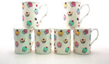 Heritage A Fairy Cupcakes Set of 6 Mugs