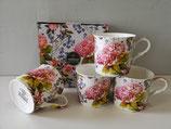 Heritage Midsummer Set of 4 Mugs