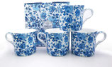 Heritage Chatsworth Set of 4 Mugs