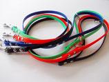 Biothane-Leine, Länge 1,20m mit fester Handschlaufe, viele Farben