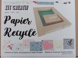 kit créatif pour faire son papier recyclé