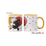 Pummel & Friends - Tasse (orange) - Purricorn & Vampcat
