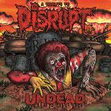 "V.A. - Undead A Tribute To Disrupt 2LP + 7"""