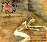 "SUN OF NOTHING (GR) ""..And voices, words, faces complete the dream"" digipack CD"