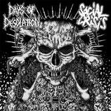 "DAYS OF DESOLATION / SOCIAL CRISIS - Split 7"""