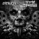 "STHENO/ WORLD DOWNFALL - split 7""EP"