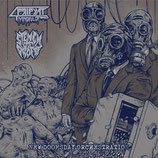 MINDFUL OF PRIPYAT / STENCH OF PROFIT -  New Doomsday Orchestration MCD (w/ poster)