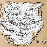 """INFARTO (SCHEISSE!) - sul fondo, insieme a tutti gli altri...  12""""+CD"""