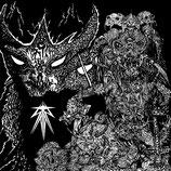 "SATAN / WHORESNATION 7"""