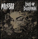"NOISEAR / DAYS OF DESOLATION - split 7""EP"