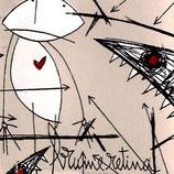 "Brume Retina - Agresse Gueule 12"" + CD"