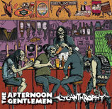 "THE AFTERNOON GENTLEMEN / LYCANTHROPHY - Split 10"" - colored (hazed) wax"