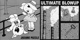 "JIGSORE PUZZLE/ ULTIMATE BLOWUP  split 7"""