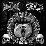 """HELLISHEAVEN / WEALD - Split 7"""""""