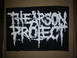 The Arson Project - LOGO PATCH big