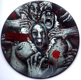 "HOLOCAUSTO CANIBAL / DESECRATION split picture 7""EP"