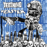 "TEETHING/ FEASTEM - split 7""EP"