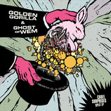 GOLDEN GORILLA / GHOST OF WEM - cruel surprises (split) LP